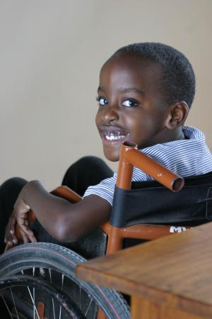 Caring for disabled children in Tanzania
