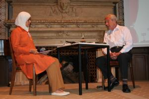 The author is interviewed by Nadia Bousmina, Algeria/UK, Economist, trainer and interpreter