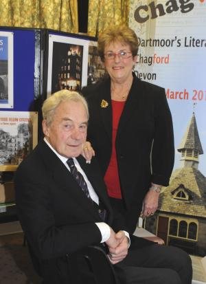 With evacuee Iris Simantel, author of 'Far from the East End'