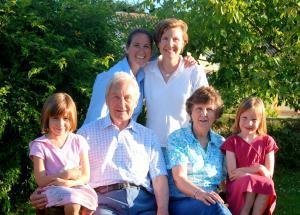 Henderson family in America
