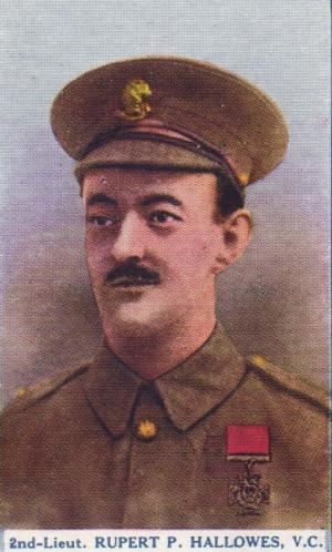 2nd Lieutenant Rupert P Hallowes VC