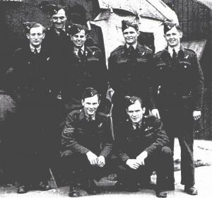 David Howell back row on left