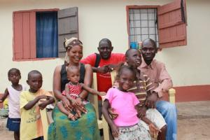 One of 65 ethiopian families resettled
