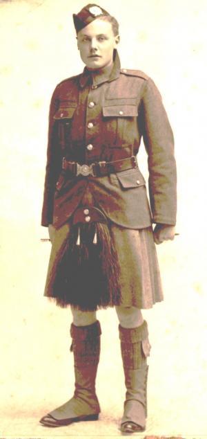 Pvt Henderson 1914