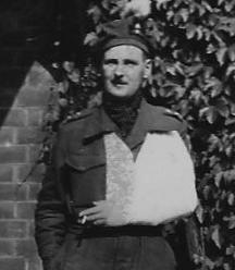 Franc Tilly wounded in Italy