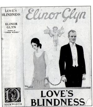 Cover of Love's Blindness by Elinor Glyn