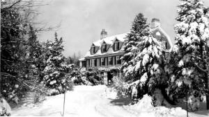 Hinchman home in Milton, Massachusetts